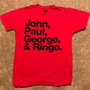 The Beatles John Paul George Ringo
